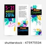 hand drawn universal art.... | Shutterstock .eps vector #475975534