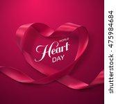 world heart day background.... | Shutterstock .eps vector #475984684