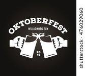 oktoberfest beer festival retro ...   Shutterstock .eps vector #476029060
