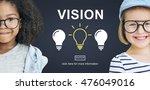 ideas creative thinking imagine ... | Shutterstock . vector #476049016