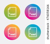 file document icon. download... | Shutterstock .eps vector #476058166