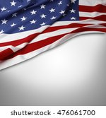 closeup of american flag on... | Shutterstock . vector #476061700