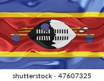 flag of swaziland  national... | Shutterstock . vector #47607325