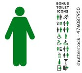 man icon and bonus man and...   Shutterstock . vector #476087950
