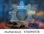 industrial 4.0 cyber physical... | Shutterstock . vector #476090578