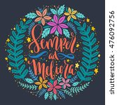 semper meliora   toward better... | Shutterstock .eps vector #476092756