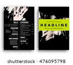 cover template with abstract... | Shutterstock .eps vector #476095798