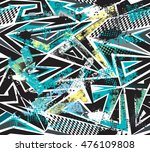 abstract seamless pattern for... | Shutterstock .eps vector #476109808