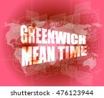Greenwich Mean Time Word On...