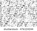 musical symbols  music notes ... | Shutterstock .eps vector #476124244