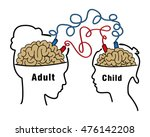 child records and imitates the... | Shutterstock .eps vector #476142208