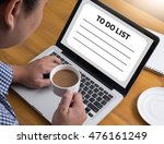 to do list  organization... | Shutterstock . vector #476161249