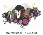 illustration of a woman and... | Shutterstock .eps vector #4761688