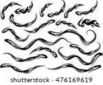 fire vector drawing design set | Shutterstock .eps vector #476169619