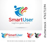 smart user logo template design ... | Shutterstock .eps vector #476171194