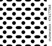 oval geometric seamless pattern ... | Shutterstock . vector #476177368