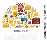 vector illustration with... | Shutterstock .eps vector #476186794