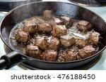 Frying Beef Bottom Round Roast...