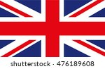 uk flag | Shutterstock .eps vector #476189608