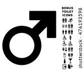 mars symbol icon and bonus... | Shutterstock . vector #476193598