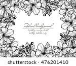 vintage delicate invitation...   Shutterstock .eps vector #476201410