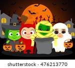 trick or treat  vector...   Shutterstock .eps vector #476213770