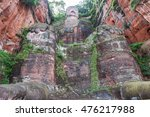 leshan giant buddha was carved...   Shutterstock . vector #476217988