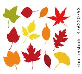 autumn leaves | Shutterstock .eps vector #476220793