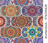 seamless tile pattern moroccan... | Shutterstock .eps vector #476250628