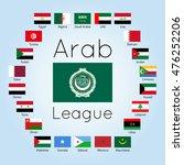 member states of arab league ... | Shutterstock .eps vector #476252206