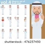 diverse set of arab man on...