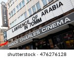 Small photo of London, UK. 12th March 2016. EDITORIAL - Angled view of the Prince Charles cinema, near Leicester Square, London, with it's screening of the classic David Lean film Lawrence Of Arabia in 70mm.