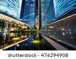 the modern city landscape in... | Shutterstock . vector #476294908