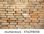 brick wall | Shutterstock . vector #476298058