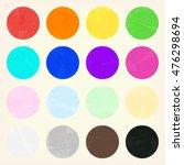 watercolor circle shape... | Shutterstock .eps vector #476298694