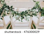 branches of greenery hanging on ... | Shutterstock . vector #476300029