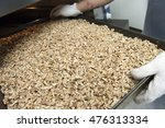 walnuts out of the oven | Shutterstock . vector #476313334