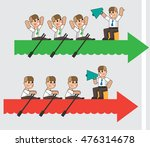 the team. business concept... | Shutterstock .eps vector #476314678