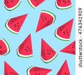 seamless pattern with... | Shutterstock .eps vector #476341909