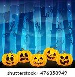 Halloween Pumpkins Theme Image...