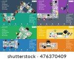 vector workplace businessman...   Shutterstock .eps vector #476370409