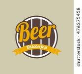beer festival oktoberfest... | Shutterstock .eps vector #476375458