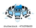 computer network. internet... | Shutterstock . vector #476398600