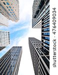 looking up at business... | Shutterstock . vector #476409034