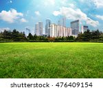 metropolitan riverside lawn | Shutterstock . vector #476409154