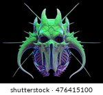 skull design on black... | Shutterstock . vector #476415100