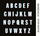 vector alphabet | Shutterstock .eps vector #476428048