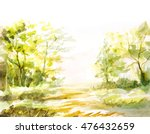 natural landscape with trees ... | Shutterstock . vector #476432659