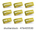 various label best product ... | Shutterstock .eps vector #476435530
