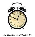 photo round  old  antique black ... | Shutterstock . vector #476446273